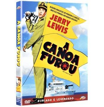 Dvd A Canoa Furou, Com Jerry Lewis, Diana Spencer 1959 + | Mercado Livre
