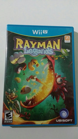 Rayman Legends Wii U Mídia Física Semi-novo
