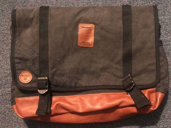 Morral Billabong Portafolio Bolso Notebook Unisex