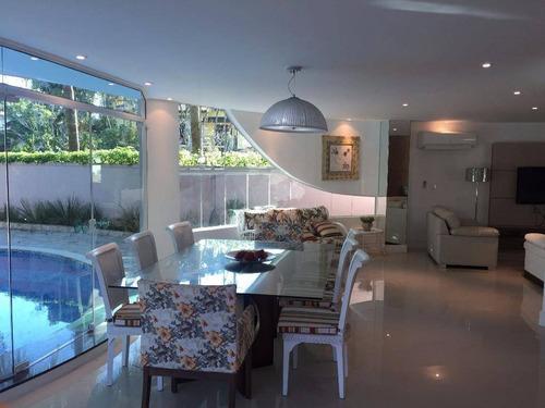 Casa Com 5 Dormitórios À Venda, 250 M² Por R$ 4.200.000,00 - Riviera - Módulo 21 - Bertioga/sp - Ca0369