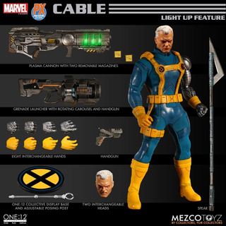 Mezco X-men Cable One 12 Px Exclusive