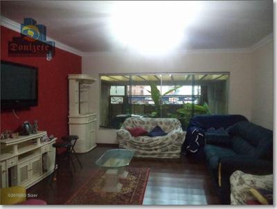 Sobrado Com 3 Dormitórios À Venda, 299 M² Por R$ 950.000 - Campestre - Santo André/sp - So0501