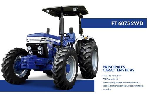 Tractor Farmtrac 75 Hp Doble Tracc