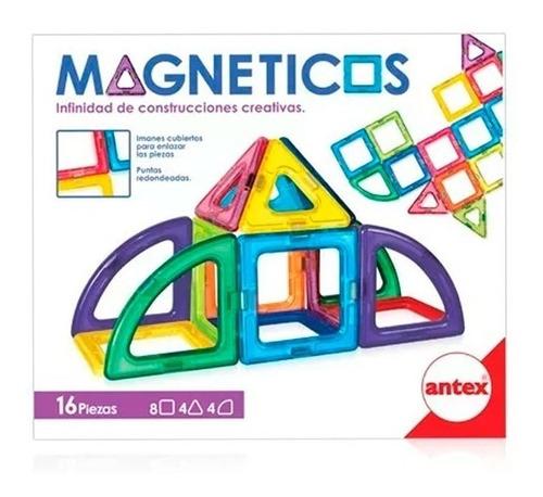 Imagen 1 de 4 de Juegos Magnéticos X 16 Piezas 1260 E. Full