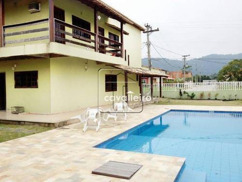 Casa Residencial À Venda, Caxito, Maricá - Ca0951. - Ca0951