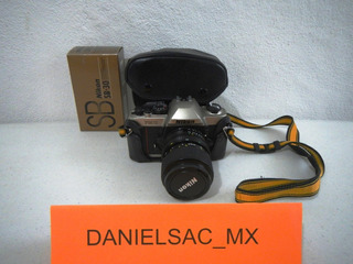 Cámara Fotográfica Nikon Fm10 Y Flash Nikon Sb-30