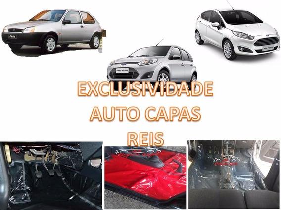 Tapete Carpet Verniz Assoalho+porta Malas Fiesta Sedan/hacht