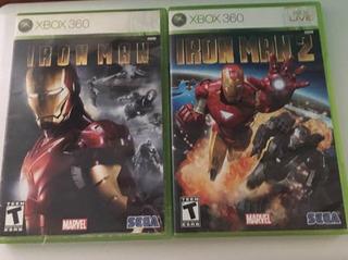 Iron Man , Iron Man 2 Videojuegos Xbox 360