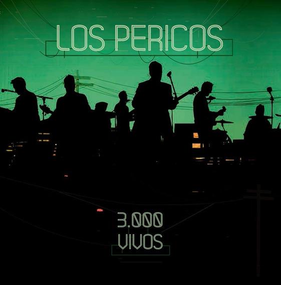 Los Pericos 3000 Vivos Cd + Dvd Nuevo Original 2017 Reggae