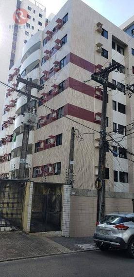 Apartamento Com 3 Dormitórios Para Alugar, 73 M² Por R$ 2.300/mês - Madalena - Recife/pe - Ap9966