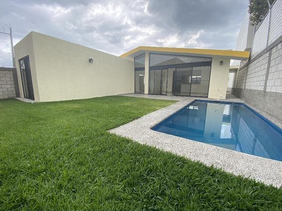 Venta Casa Nueva Moderna Un Nivel En Fraccionamiento Lomas Tetela Cuernavaca Morelos