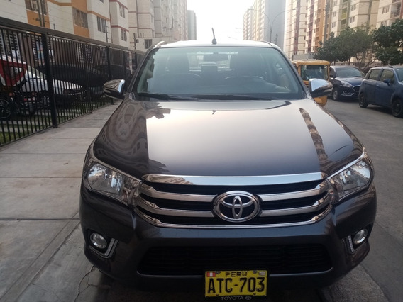 Vendo Mi Toyota Hilux Turbo Intercooler 2017 Srv Full
