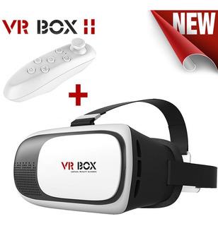 Lentes 3d Realidad Virtual Vr Vrbox 2.0 Y Control Bluetooth