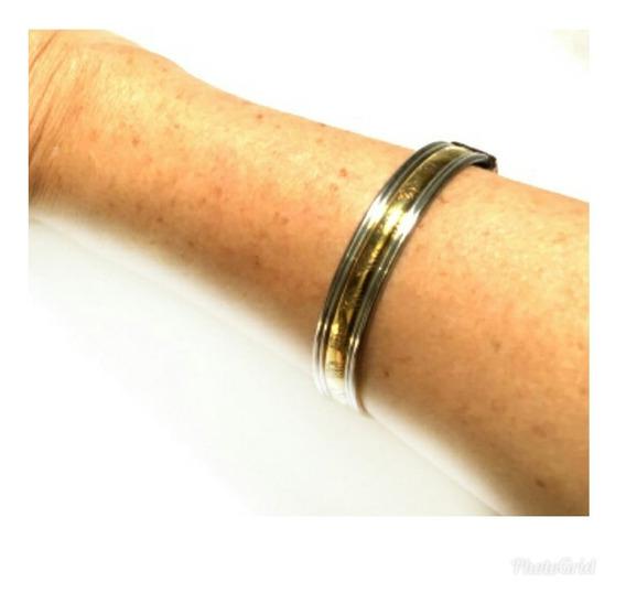 Bracelete Indiano Masculino Prata Tibetana E Bronze