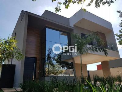Casa Com 4 Dormitórios À Venda, 349 M² Por R$ 1.700.000 - Condomínio Alphaville - Ribeirão Preto/sp - Ca2776