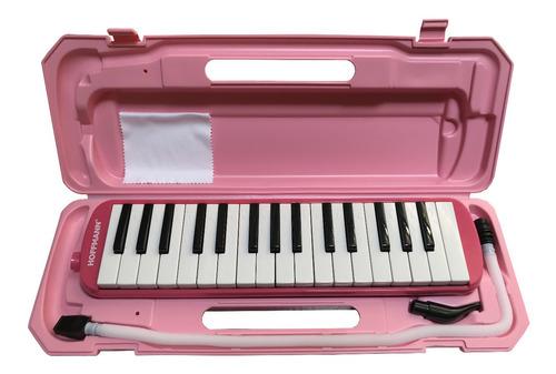 Pianica Melódica Hoffmann Ytm-32a Pk Rosa Con Estuche Nueva