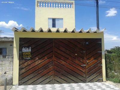 Sobrado A Venda Em São Paulo, Itaim Paulista, 2 Dormitórios, 1 Suíte, 1 Banheiro, 2 Vagas - 20457
