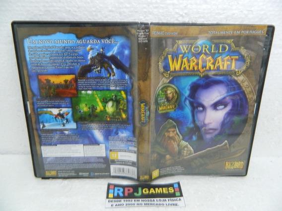 World Of Warcraft + Burning Crusade Original P/ Pc - Loja Rj