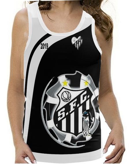 Kit 4 Camisetas Santos Regata Peixe 2019 Time Frete Gratis