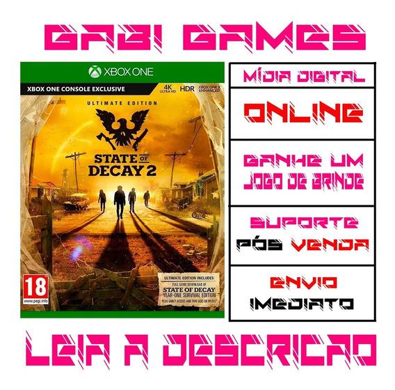 State Of Decay 2 Edição Suprema - Xbox One Midia Digital Online + Brinde