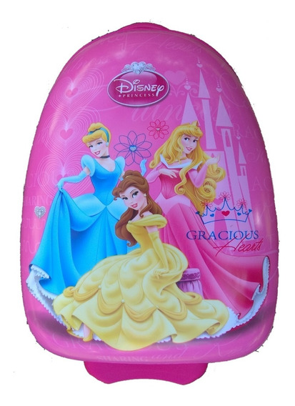 Mala Rígida Infantil Feminina De Viagem Princesa Cinderela