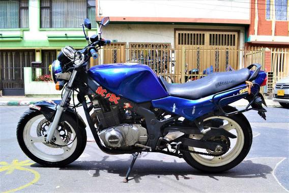 Suzuki Gs 500 Azul Gs 500 Economica Negociables