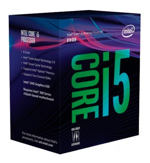 Processador Intel 8400 Core I5 Lga 1151 2.8 - 4.0ghz Box
