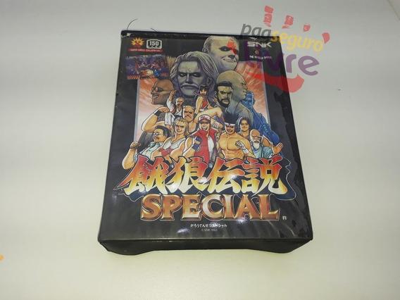 Fatal Fury Special - Jogo Original Do Neo Geo