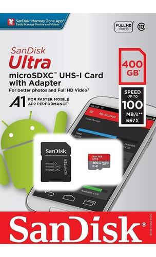 Sandisk Ultra 400gb Sd Tarjeta Microsdxc Samsung 512gb 256gb