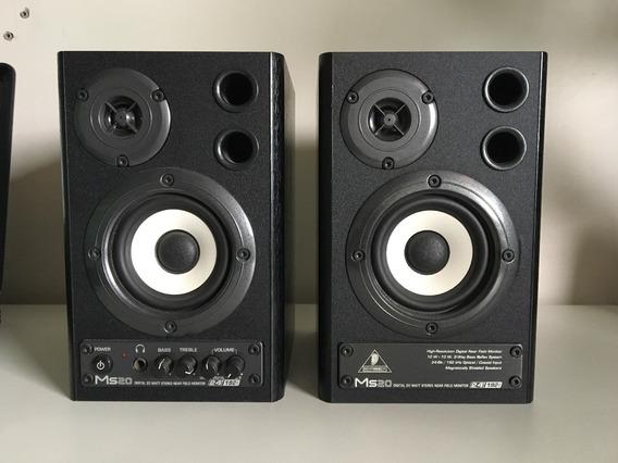 Monitor De Áudio Behringer Ms20