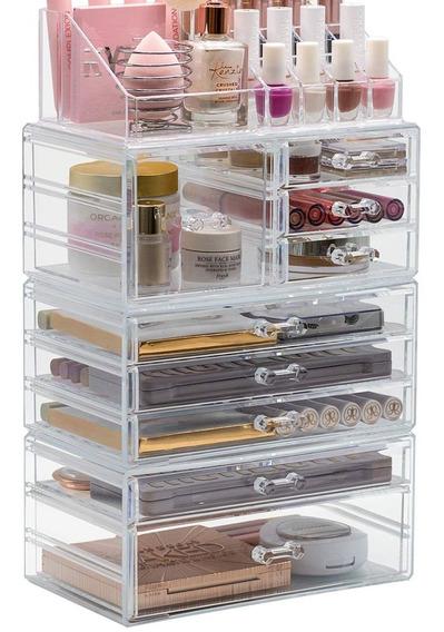 Mueble Organizador Para Maquillaje Y Cosméticos Brochas Dama