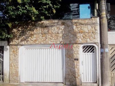 Casa Com 2 Dormitórios À Venda, 110 M² Por R$ 350.000 - Parque Novo Oratório - Santo André/sp - Ca0512