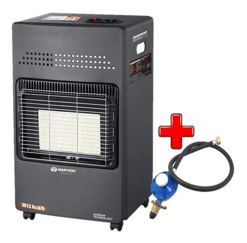 Estufa Calefactor Garrafera Daewoo Dany-113 3612kcal + Regu