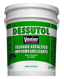 Techado Asfáltico Estable, De Aplicación En Frio Asfalto 18l