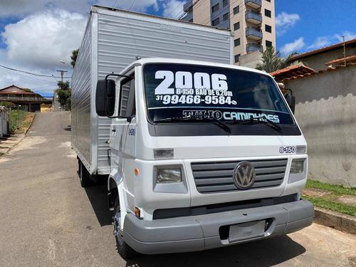 Caminhão Vw 8-150 Bau 6,20 Ano 2006 Impecavel !