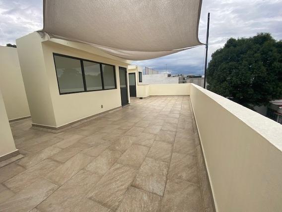 Depto. Penthouse Del Valle 3 Recam. Roof. Privado 195m2