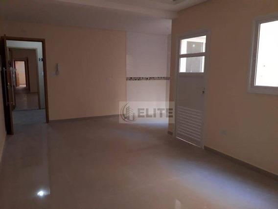 Apartamento Com 3 Dormitórios À Venda, 70 M² Por R$ 360.000,00 - Vila Pires - Santo André/sp - Ap9163