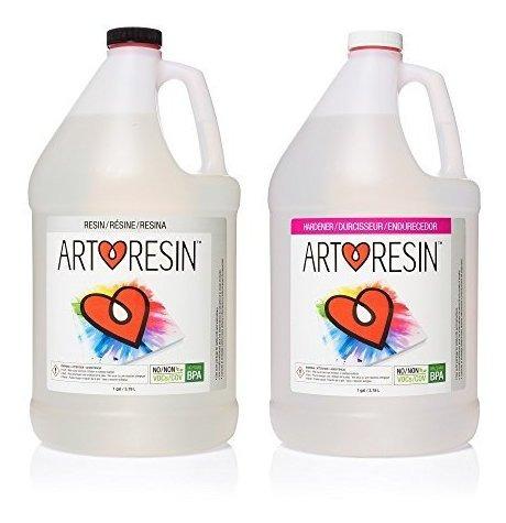 Resina Epoxica 2 Gl/ 7.57 Lt Total Para Arte Y Manualidad