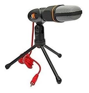 Microfono Profesional Condensador Computadora Laptop Sf-666