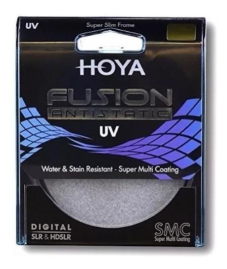 Filtro Hoya Fusion Uv 52mm Câmera Fotográfica Imp. Novo