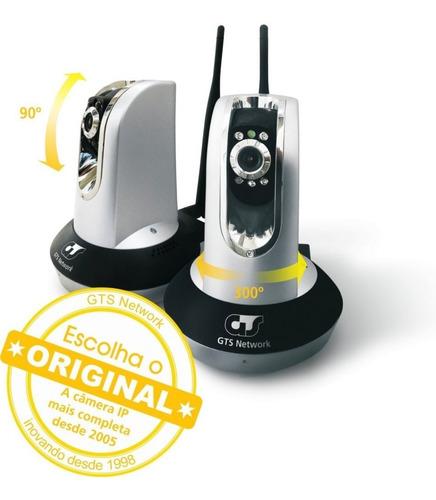 Camera De Segurança Gts 80.0400 Ip, Lan 10/100mbps Wi-fi Poe
