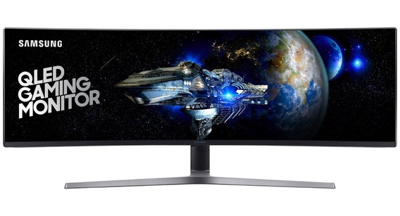 Monitor Gamer Led 49 Curvo 1ms 144hz Double Full Hd Ultra Wide - Samsung