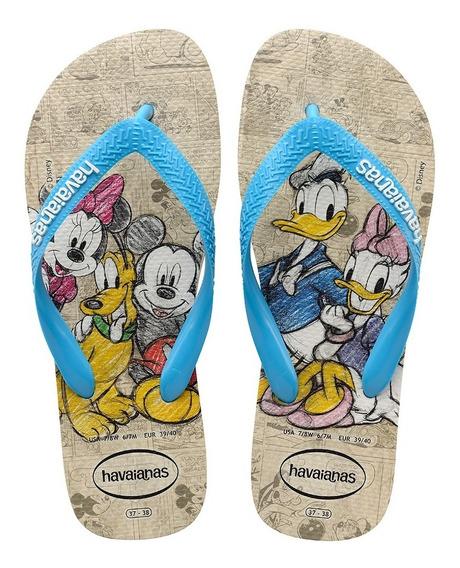 Havaianas Sandália Chinelo Disney Stylish Unisex