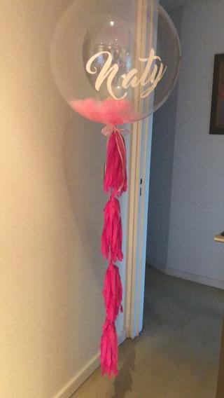 Globos Burbuja Cristal Bubble Personalizada Con Decoracion