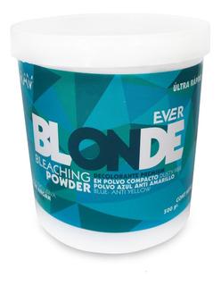 Polvo Decolorante Premium Azul Ever Blonde 500g Mav