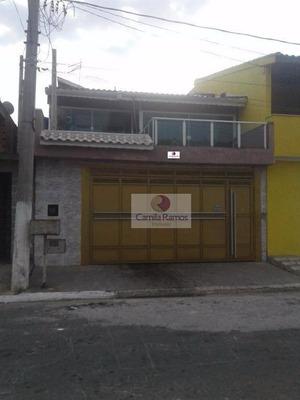 Sobrado Residencial À Venda, Jardim Quaresmeira, Suzano. - So0023