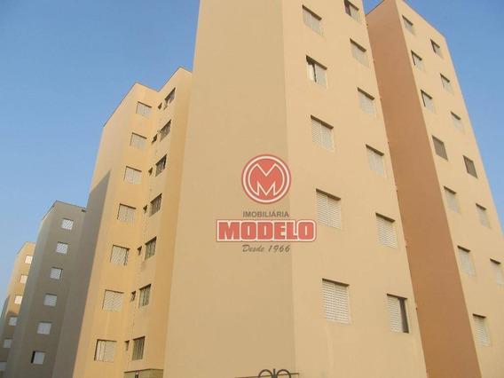 Apartamento Com 3 Dormitórios Para Alugar, 70 M² Por R$ 600/mês - Paulicéia - Piracicaba/sp - Ap2614
