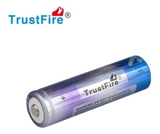Pila Recargable Li-ion 18650 3.7v 2000mah Marca Trustfire®