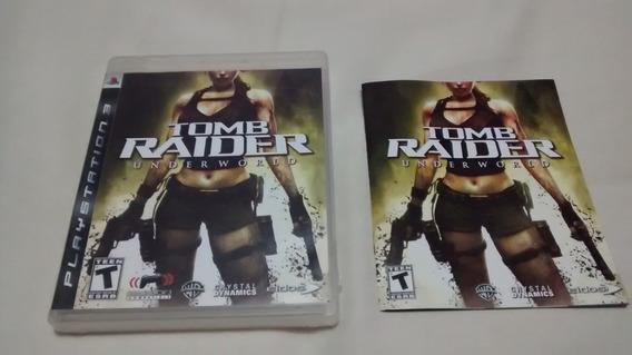 Tomb Raider Underworld Original Midia Fisíca Completo