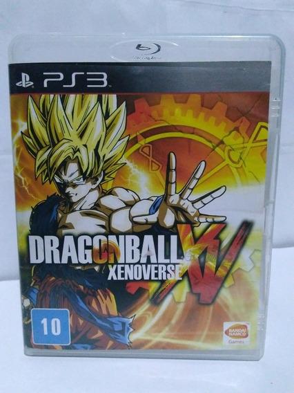 Jogo Dragon Ball Xenoverse Ps3 Mídia Fisica R$99,90
